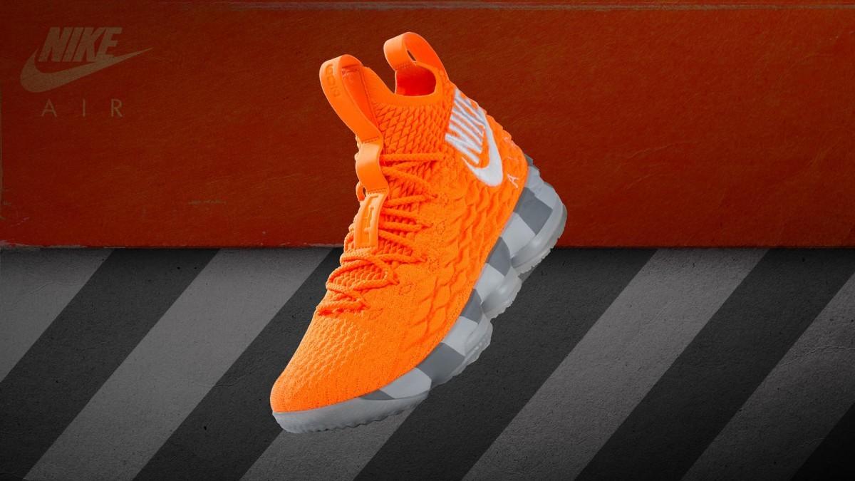 a3e2c8eb418 Nike Lebron 15 PE