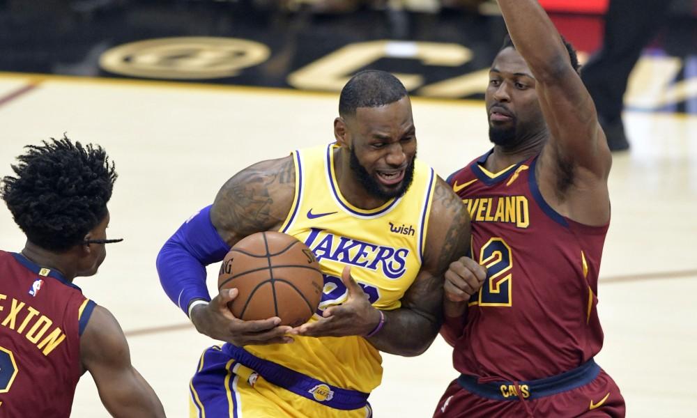 Cavaliers Vs Lakers 2018 >> Lebron Kembali Ke Cleveland Dan Bawa Lakers Kalahkan
