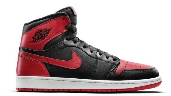 """Petikan iklan lama tentang sepatu ini memang menjelaskan bagaimana sejarah Air Jordan I di era 1985. """"Untungnya, NBA tidak bisa menghentikan anda ..."""