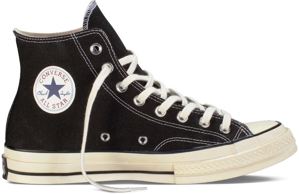 f159d02022f7 Converse Chuck Taylor All Star klasik memiliki tali berbahan nilon yang  dianyam. Sedangkan untuk seri 1970 s