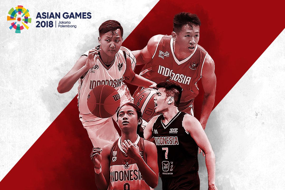 Susunan Pemain Timnas Basket Dan 3x3 Indonesia Untuk Asian