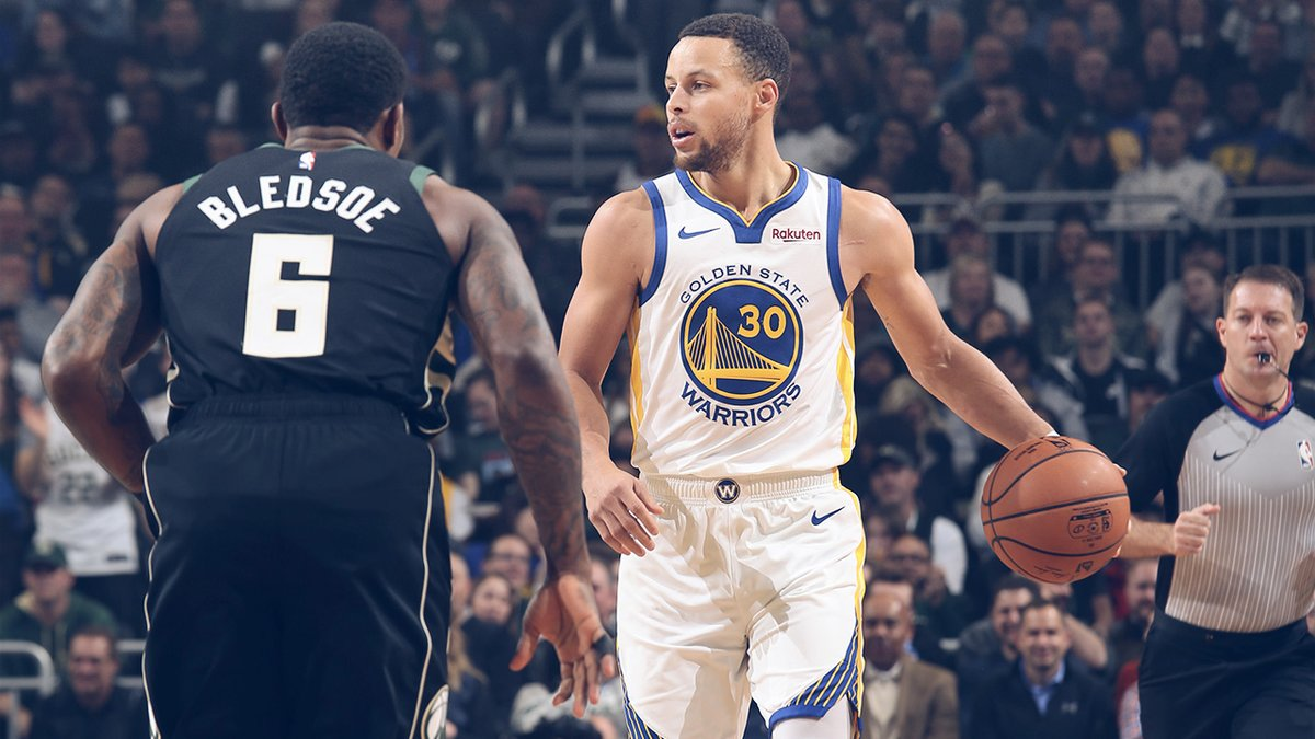 Klay Thompson Antar Warriors Pukul Balik Bucks - mainbasket.