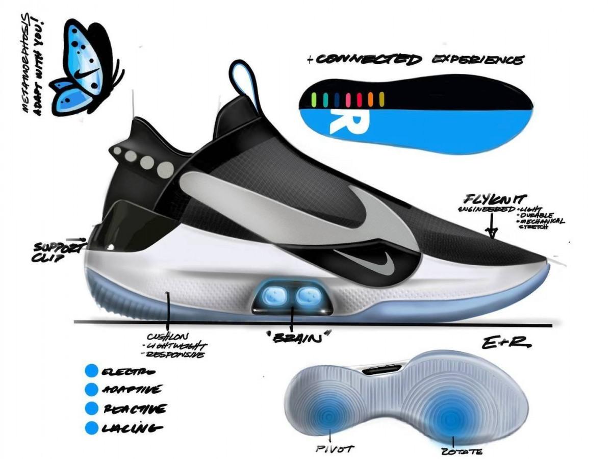Nike Kenalkan Hyperadapt Bb Sepatu Basket Dengan Sistem Temali Otomatis Mainbasket Com
