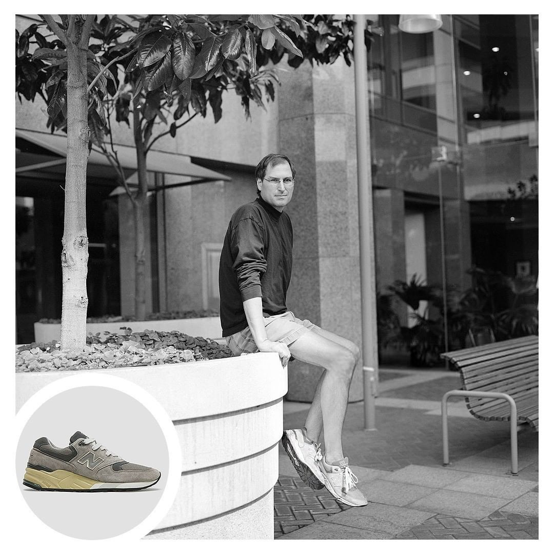 huge selection of cdaaf d391a New Balance 990, Sepatu Favorit Steve Jobs - mainbasket.com