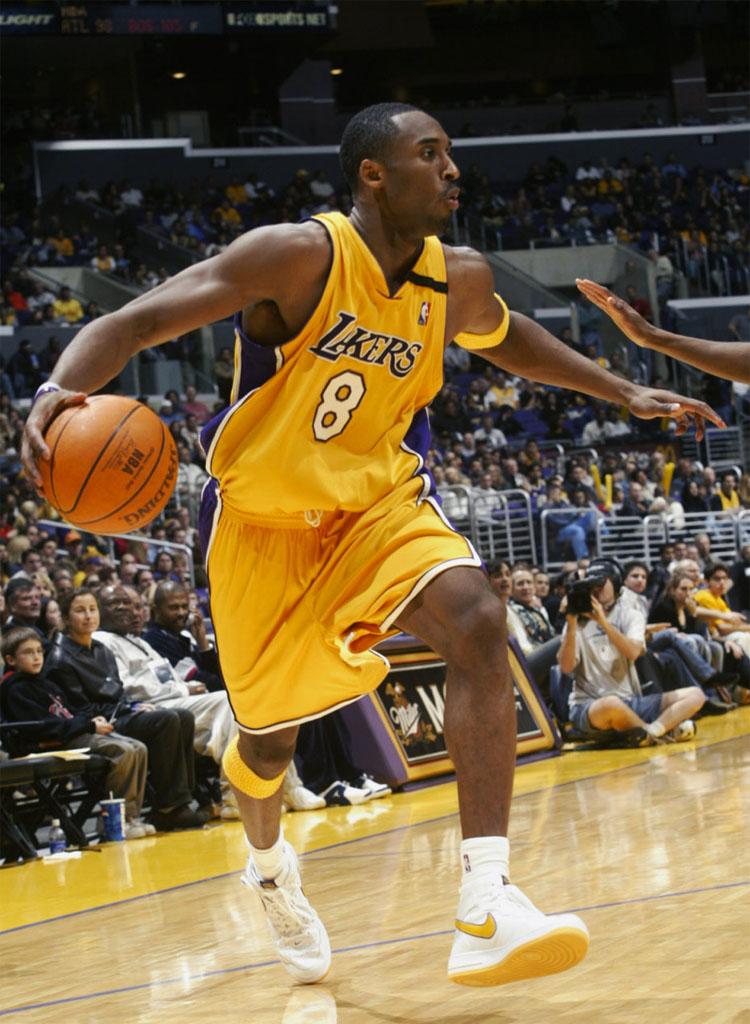 Sepatu-Sepatu Kobe Bryant pada Masa